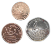 three coin set